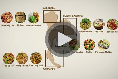 Thailand Food Tours Video